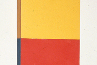 Formica Yellow Red and Blue