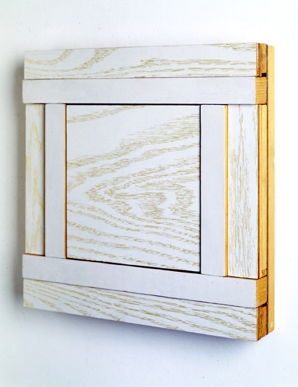 Gold and White Wood,